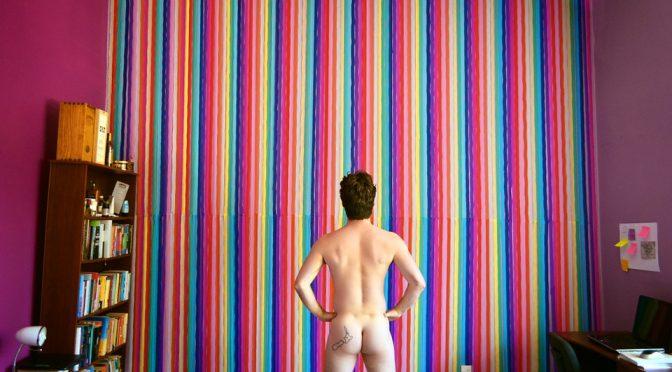 gay in man spandex